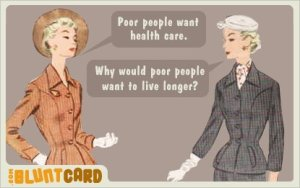 poor people live longer